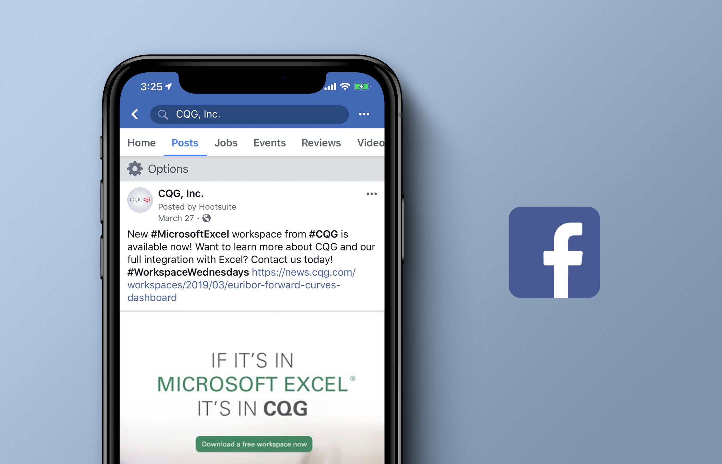 CQG & Microsoft Excel Initiative