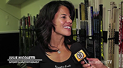 Julie Nicoletti and Kinetic Fuel team up with the Boston Bruins for the third season in 2017-2018. Click here to read the article and watch the video.  Click Here to read the article and watch the video.