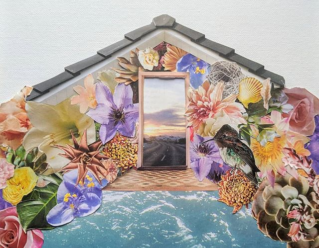 Flower House is one of those pieces. By the time it was finished, I was knee deep in an ocean of reminiscence—dreaming of yearly family vacations to Surfside Beach. I'm not sure if it was the shell, or the nest, or the waves, but all of these things added up to that beloved trip to the gulf coast of Texas.