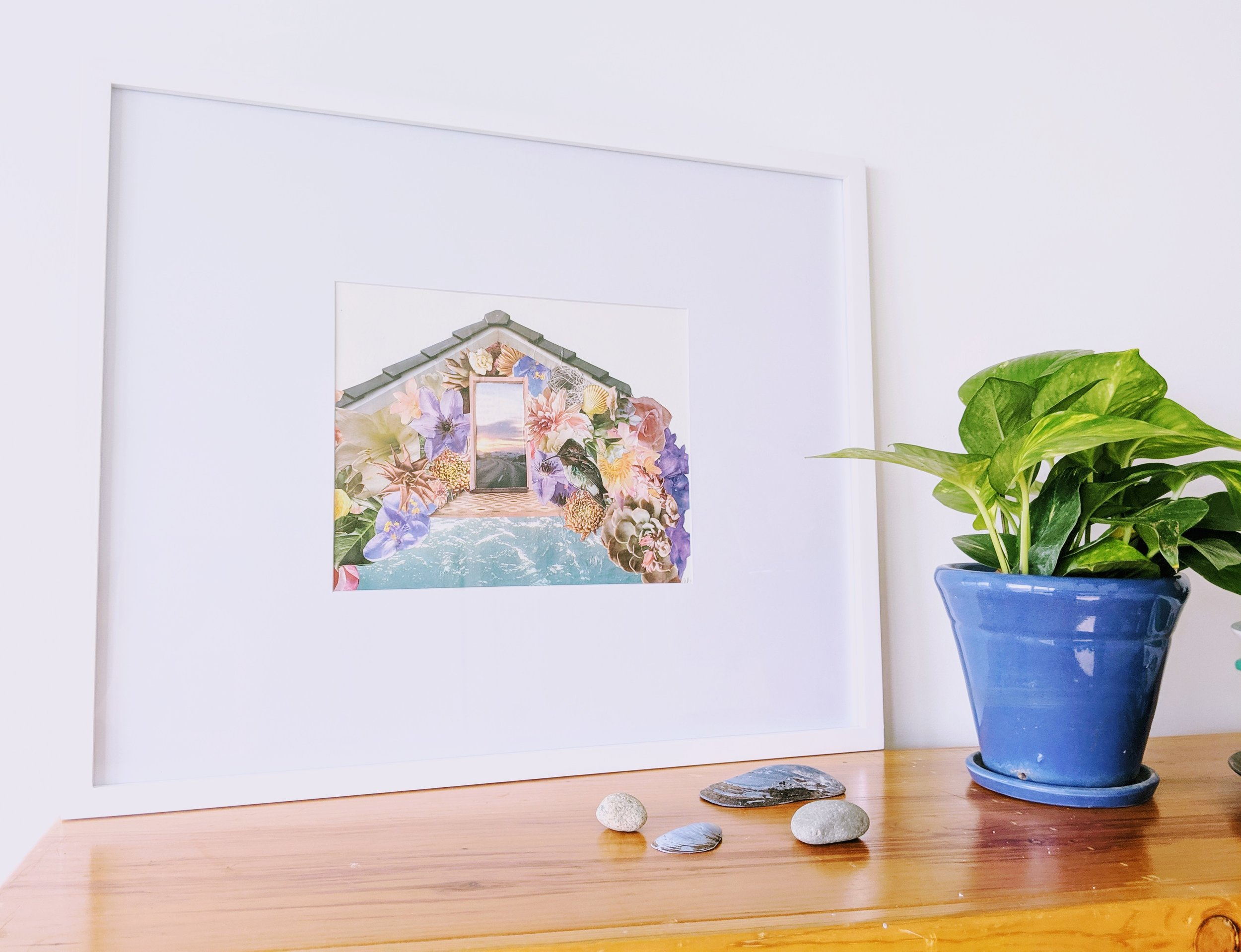 Flower House Andi Garbarino Framed.jpg