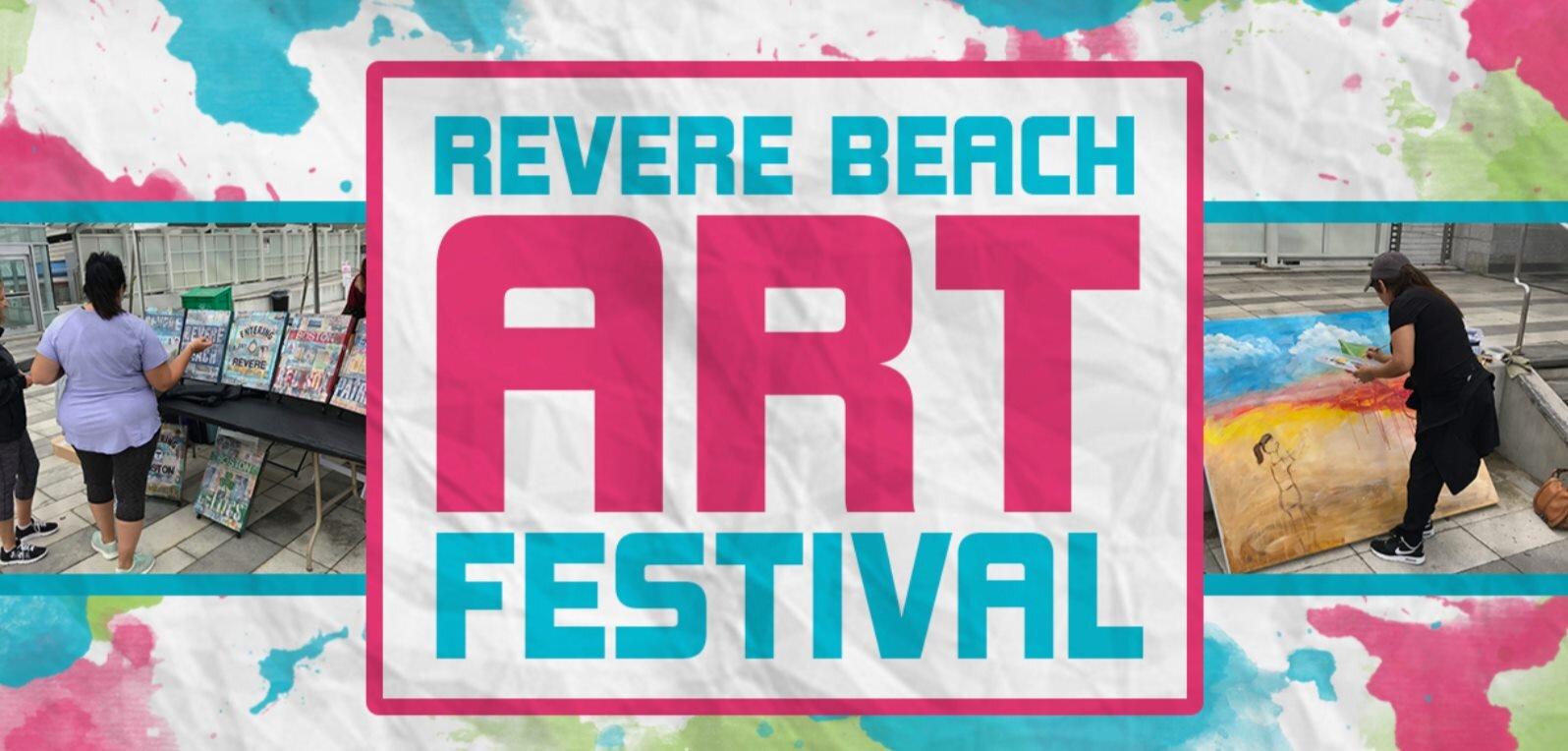 Revere Beach Partnership's 4th Annual Revere Beach Art Festival