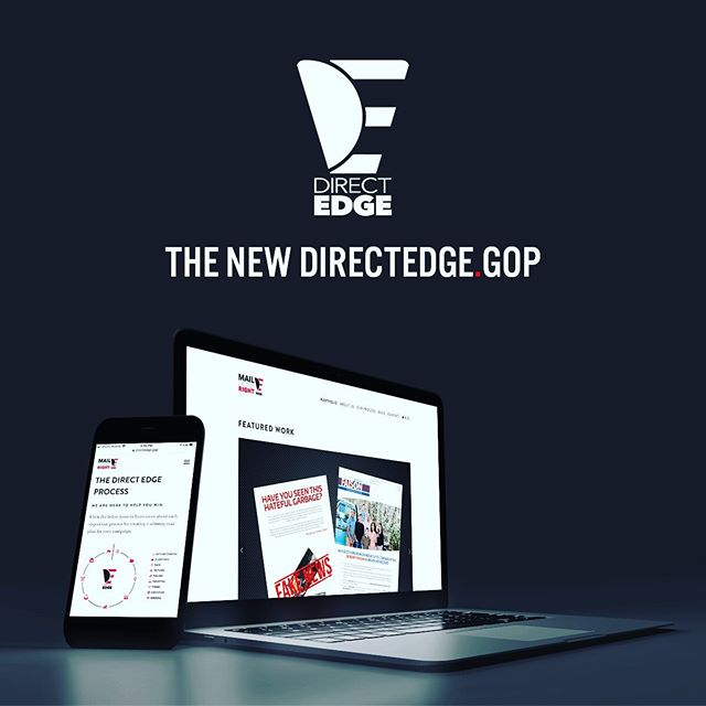 Completely revamped directedge.gop for a clean, crisp new look. Check it out. Link in bio. #beatdemocrats