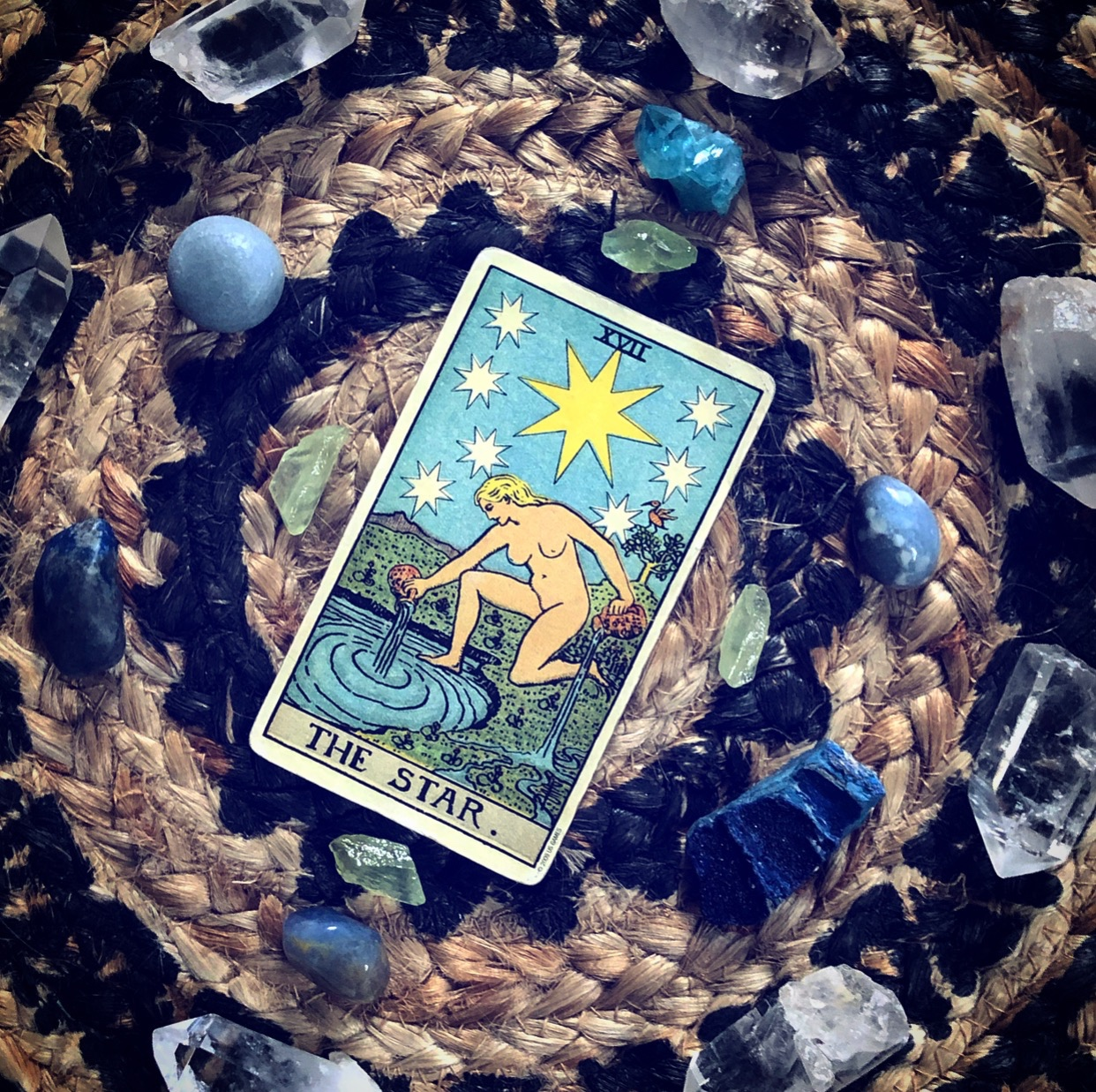 For Tarot Tuesday we examine the Star Card - a favorite for many!