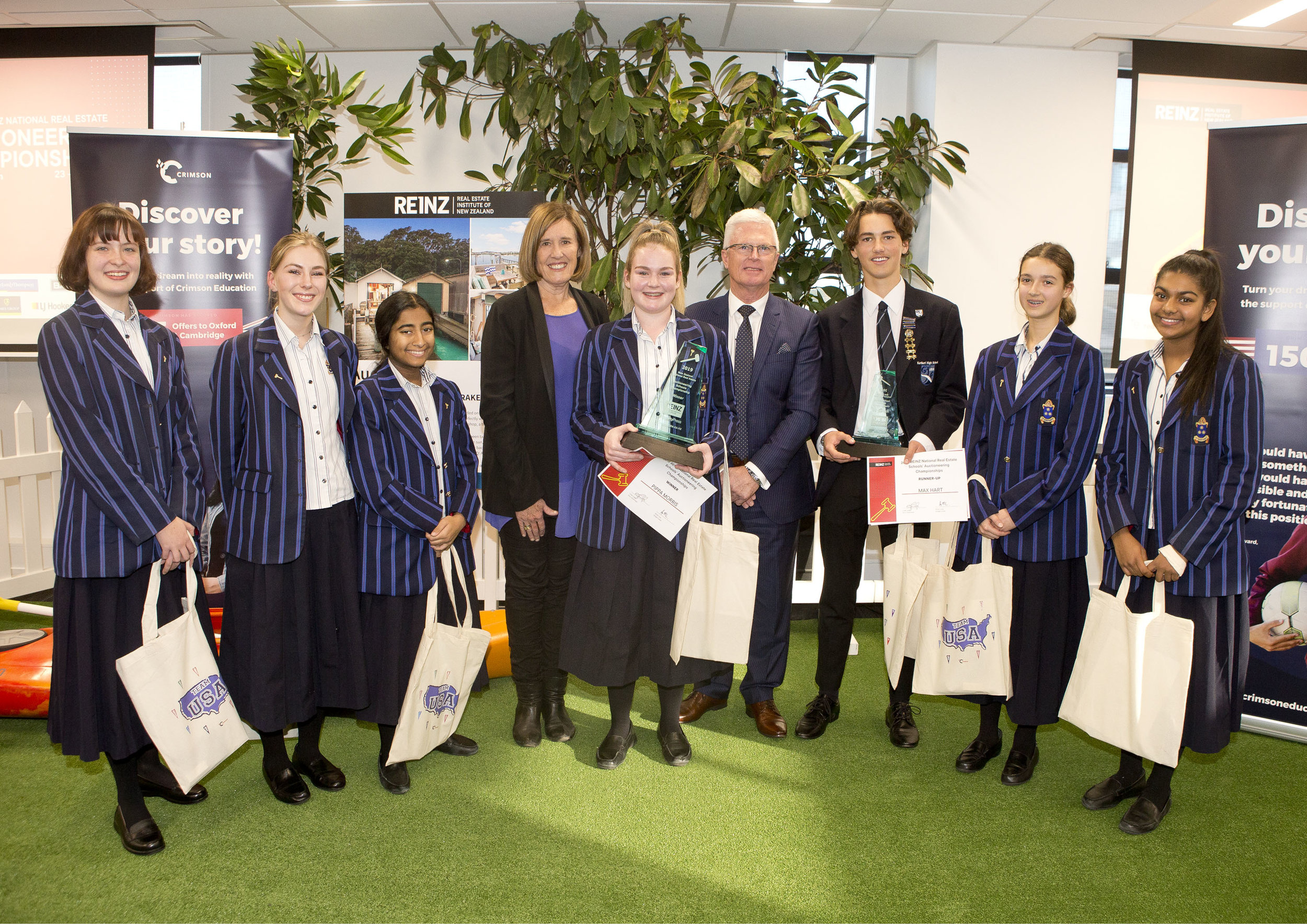 Auckland Diocesan School for Girls competitors