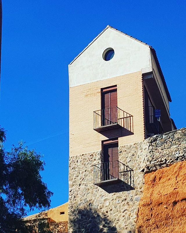 #arte #casa #house #sky #amazing #colors #toledo #madrid #spain #españa #europe #world