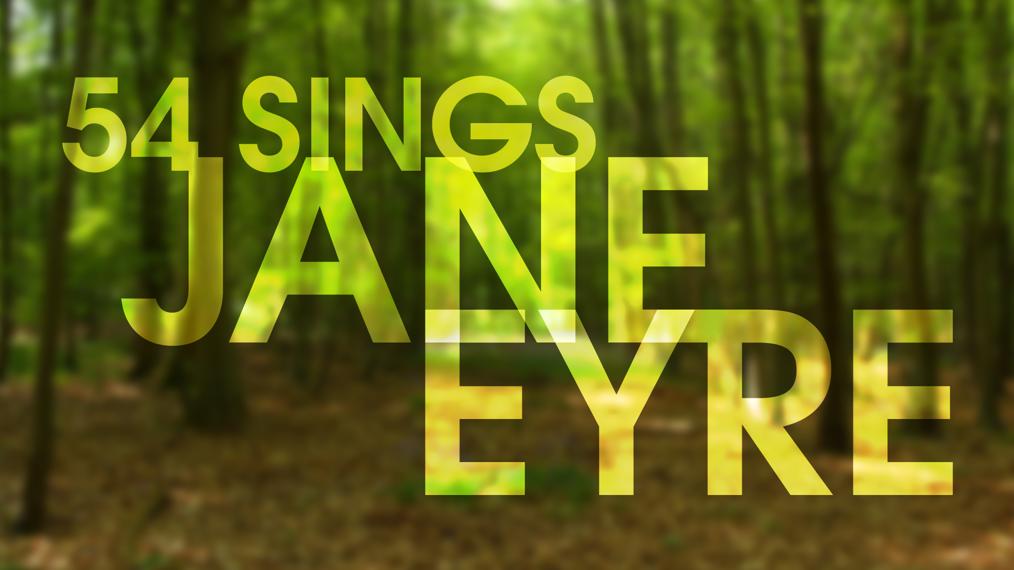 54 Sings Jane Eyre - Music and Lyrics by Paul Gordon, Book by John CairdAssociate Director & Assistant ProducerFebruary 28, 2018Feinstein's/54 Below