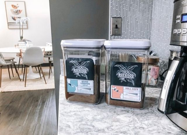 Loving that two of our amazing clients are partnering together! If you stop in to @thecoconj, you're now able to grab a cup of some fabulous @boxwood_coffee 💓