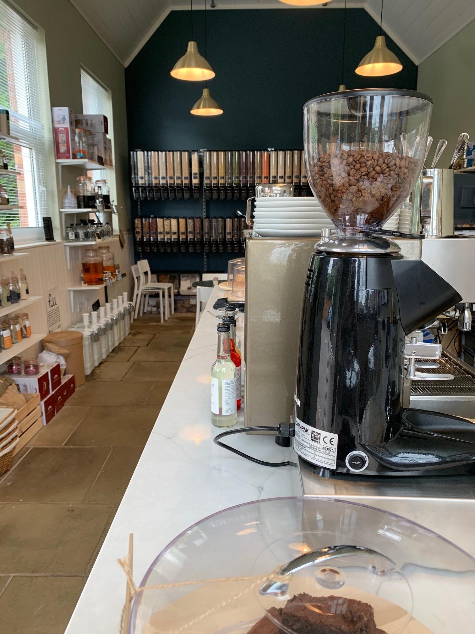 Favourite things - Coffee, cake, zero waste, refills, herbs & spice…