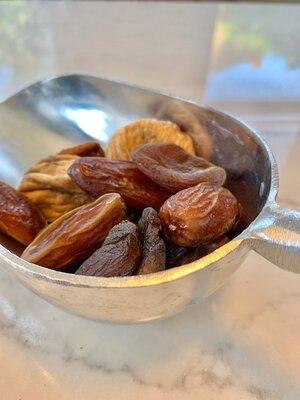 Dates, figs, apricots and mango…