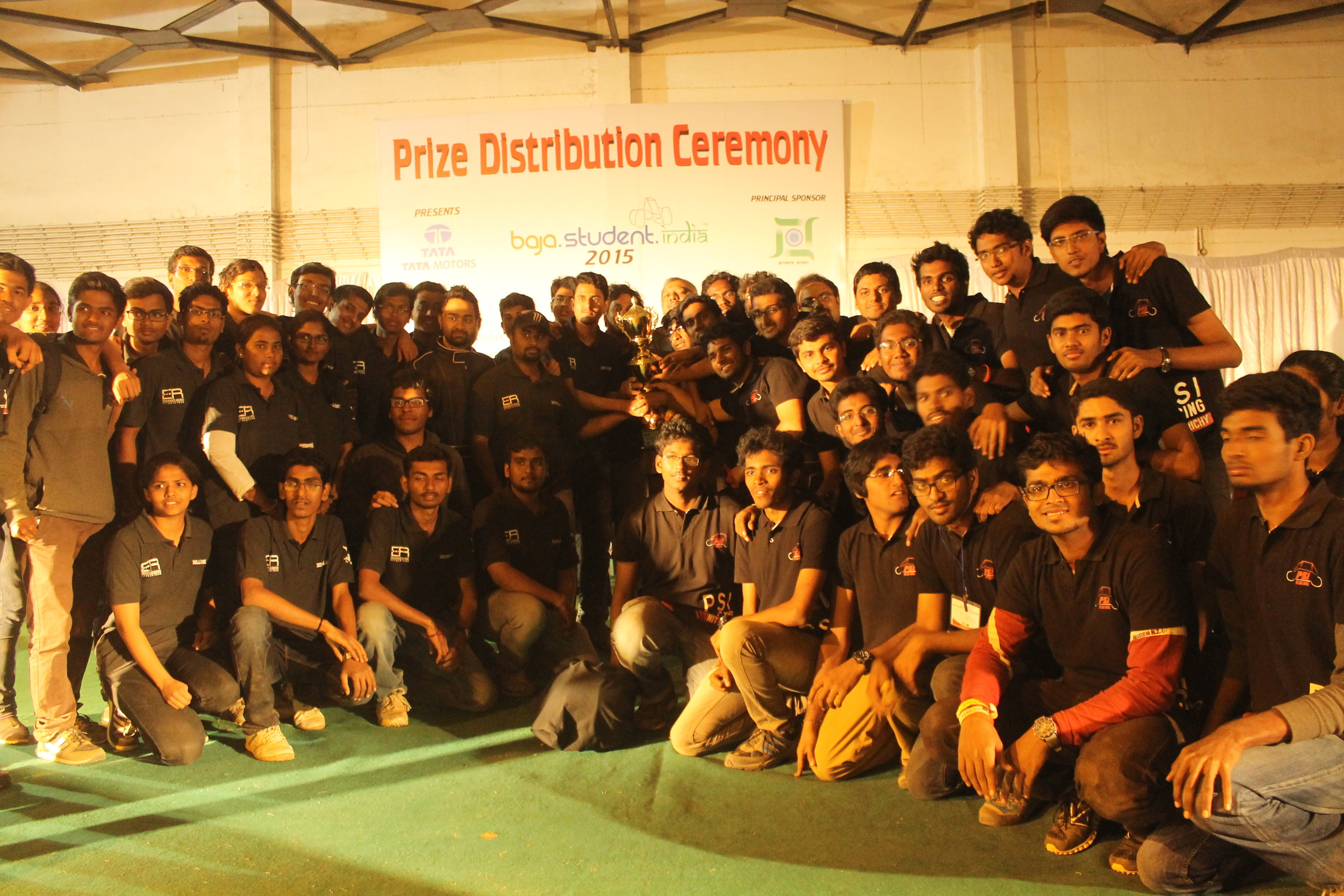 Prize Distribution -