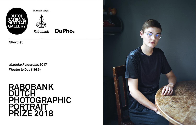 Wouter le Duc Rabobank Dutch Photographic Portrait Prize
