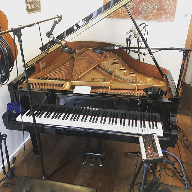 Piano tracking Today...#coles4038 #yamahaC3
