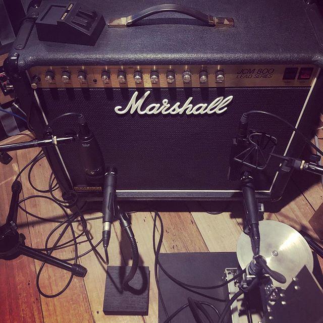 JCM 800 @four4ty #guitar #marshall #recording #wantone #studio