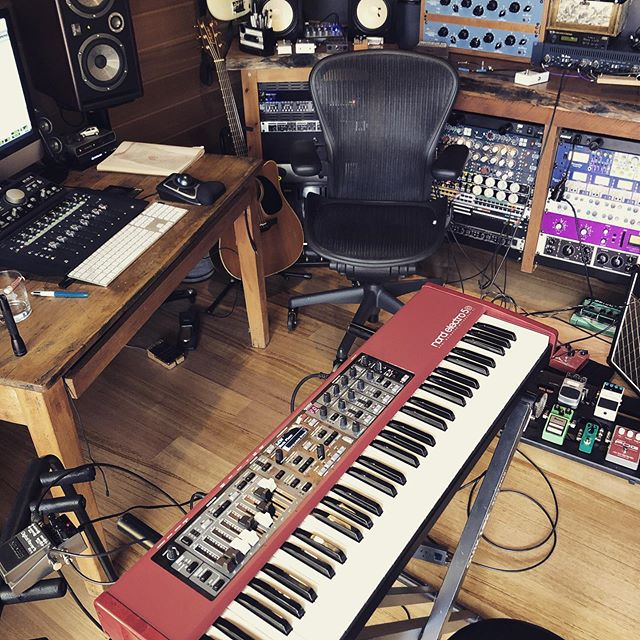 Nord @four4ty #nordelectro #newmusic #recordingstudio