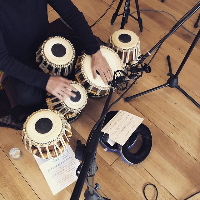 Tabla Recording @four4ty #tabla #recording