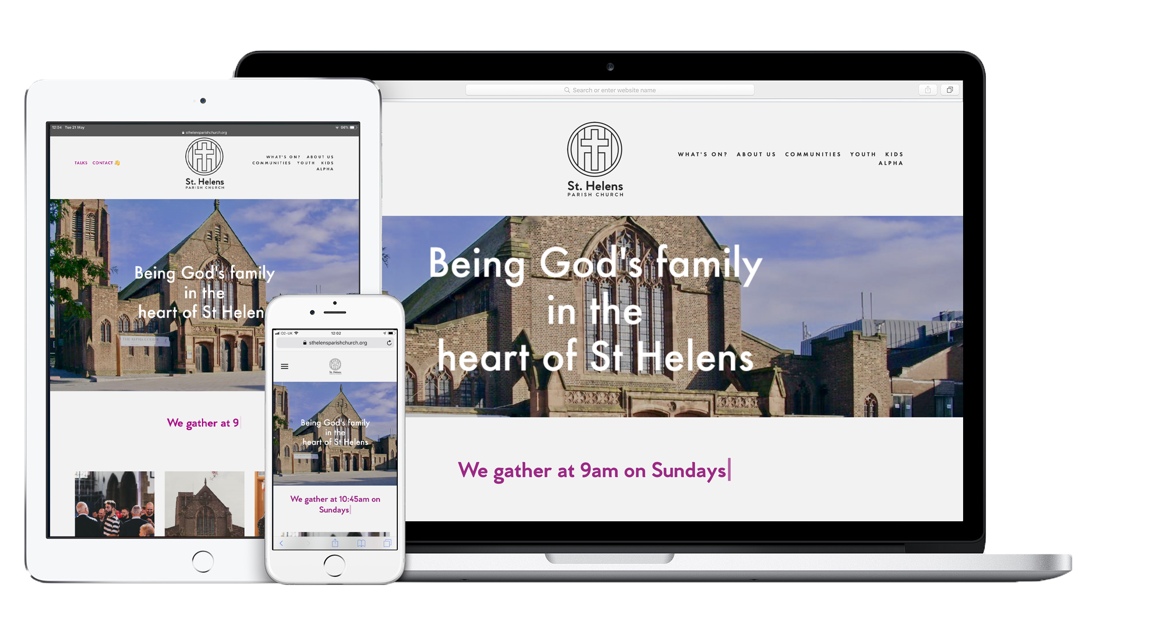 Website packages for YOUR church - We offer packages to enable every church to have a digital presence