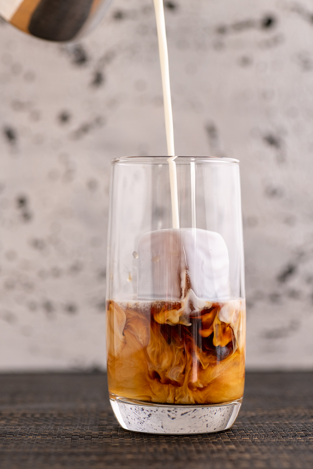 Beverage Photography of Iced Coffee (First Press coffee)