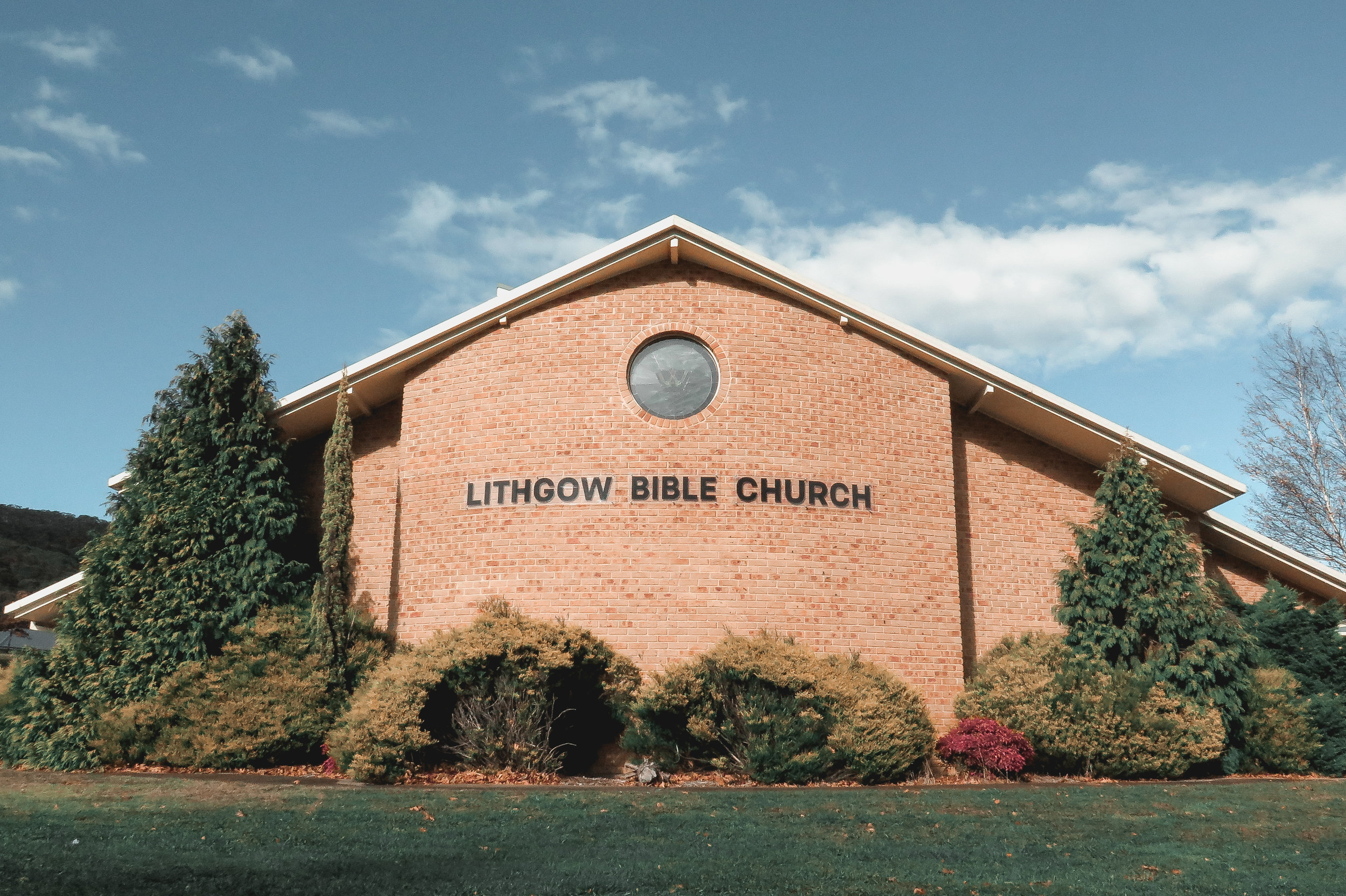 Lithgow Bible Church Street Front