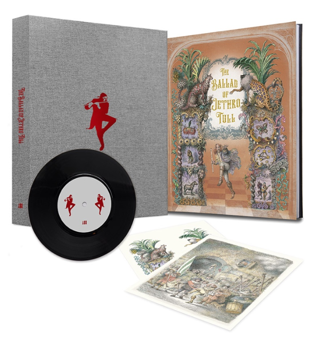 The Ballad of Jethro Tull official illustrated book.