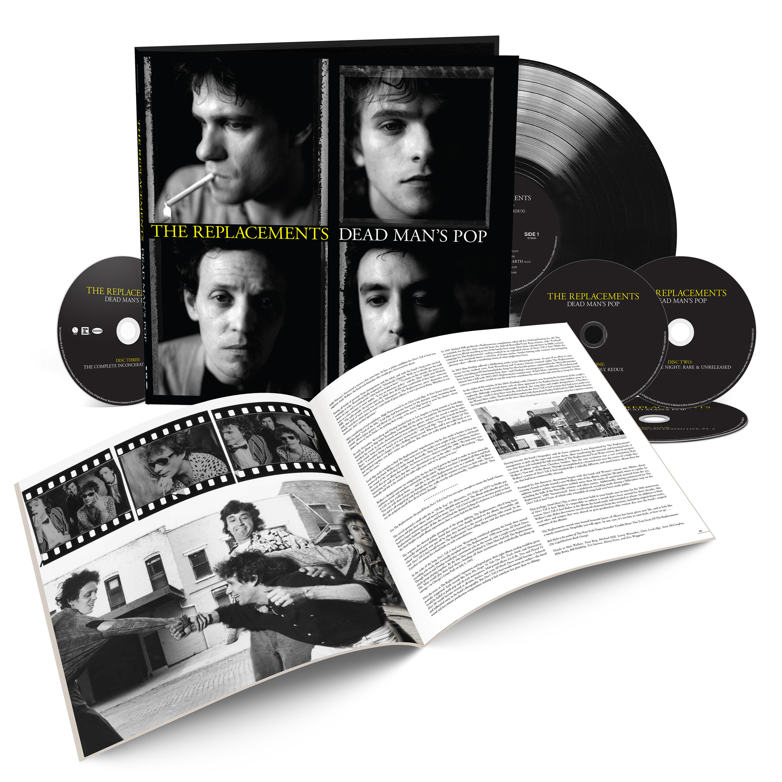 THE REPLACEMENTS' DEAD MAN'S POP - 4CD/1LP BOXED SET UNVEILED.