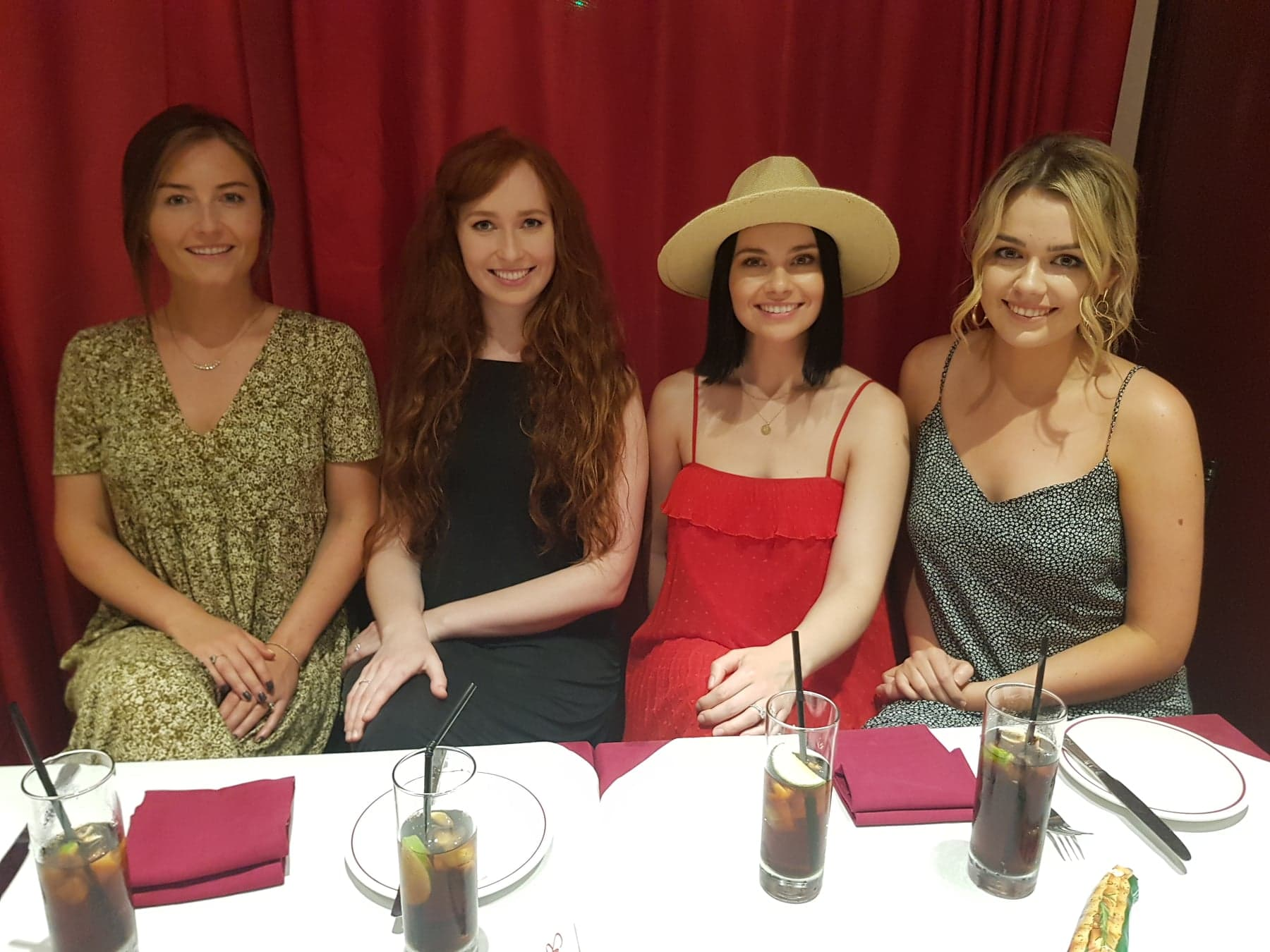 Celtic Woman interviewed by Paul Davies at Sergio's, London's West End.