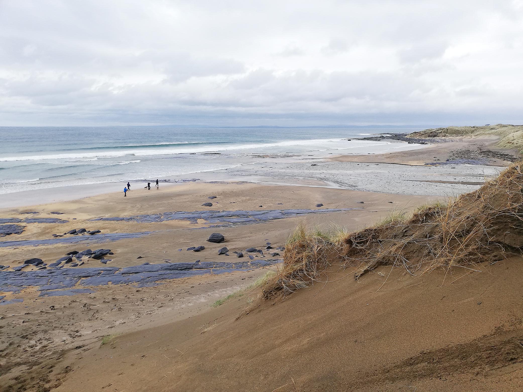 Fanore Beach, The Burren & Cliffs of Moher UNESCO Global Geopark, on Ireland's Wild Atlantic Way.