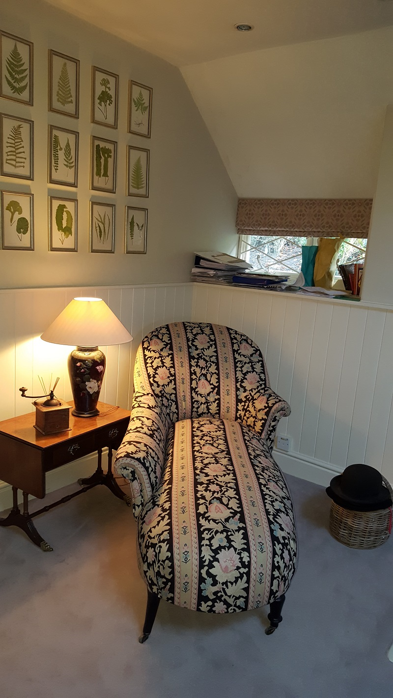 Gorgeous Chaise Longue in Kate Forman -