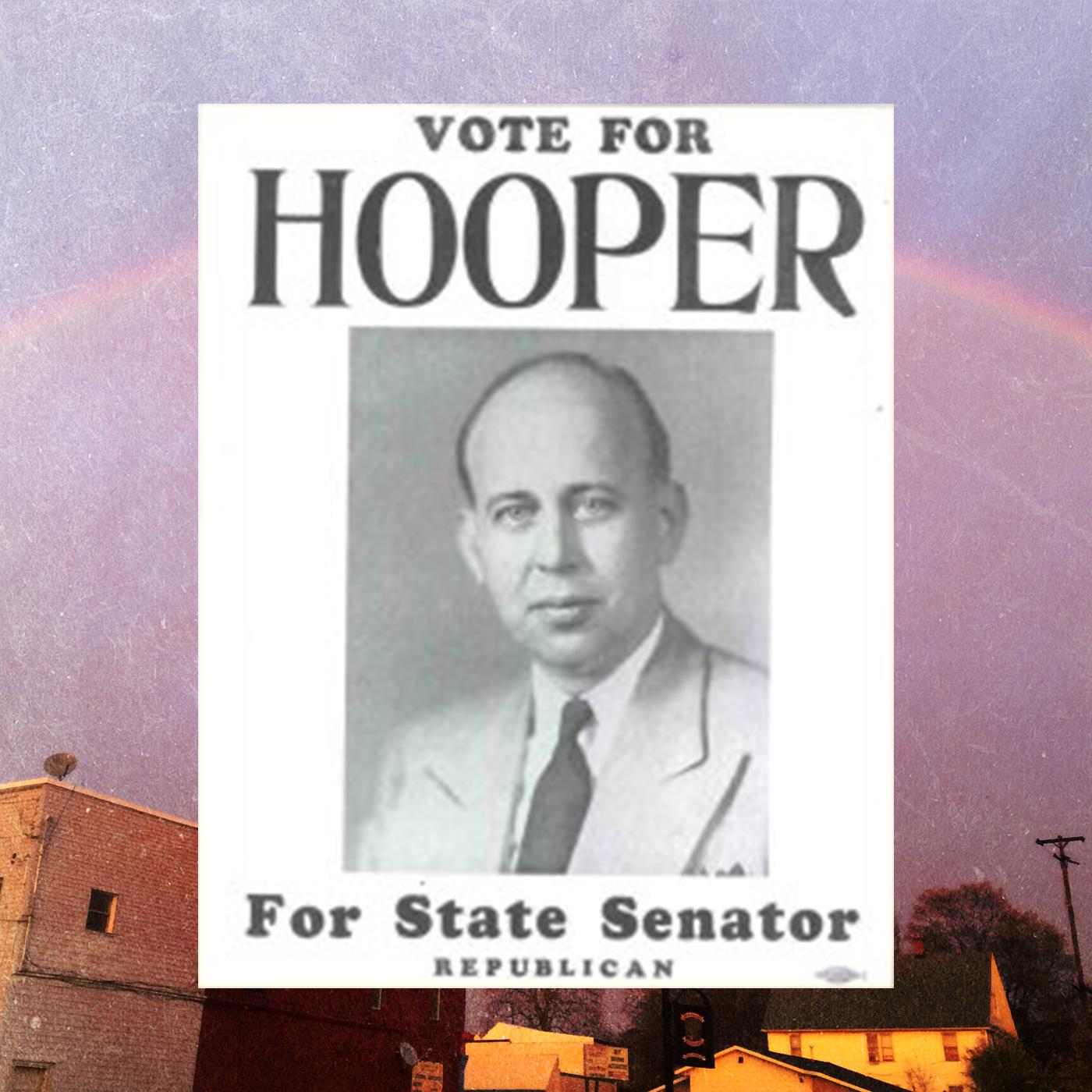 'Vote for Hooper' poster