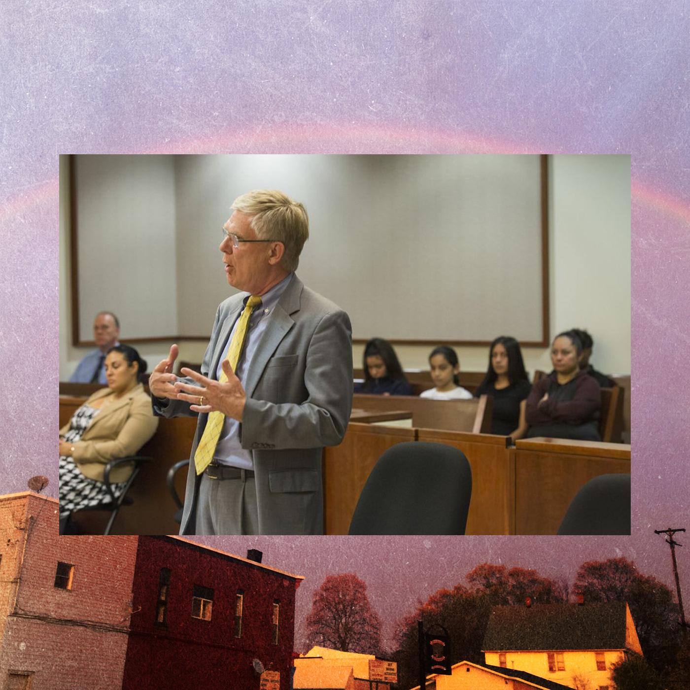 William Forsyth addresses the judge in 2016