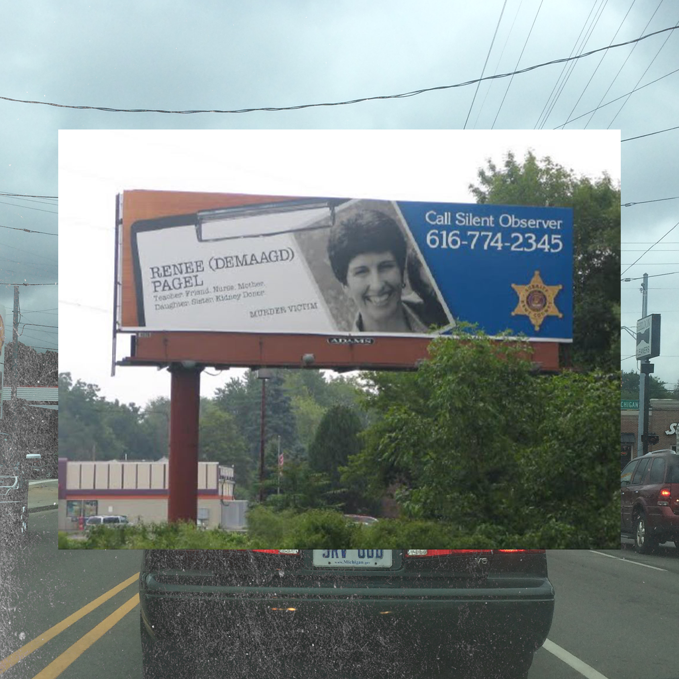 Renee Pagel silent observer billboard