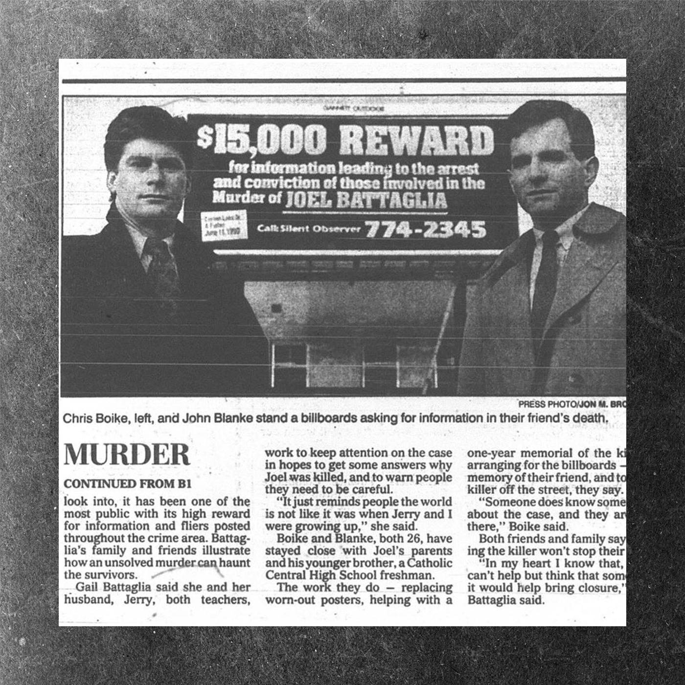 Grand Rapids Press clippings