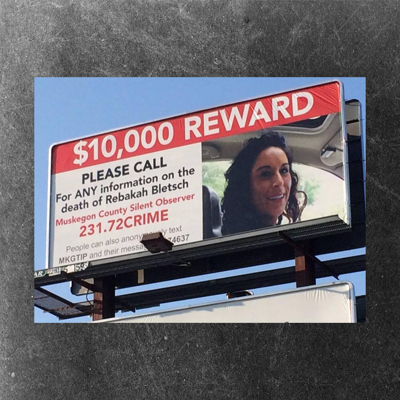 Rebakah Bletsch billboard