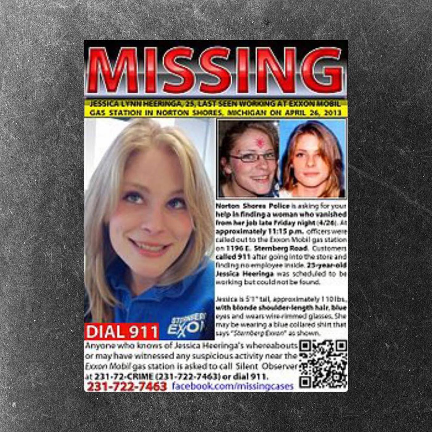 Jessica Heeringa missing poster