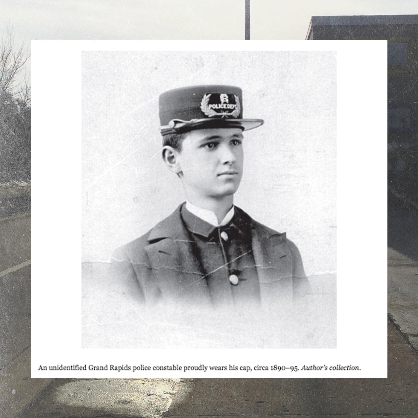 Grand Rapids patrolman from 'Murder & Mayhem in Grand Rapids' by Tobin T. Buhk