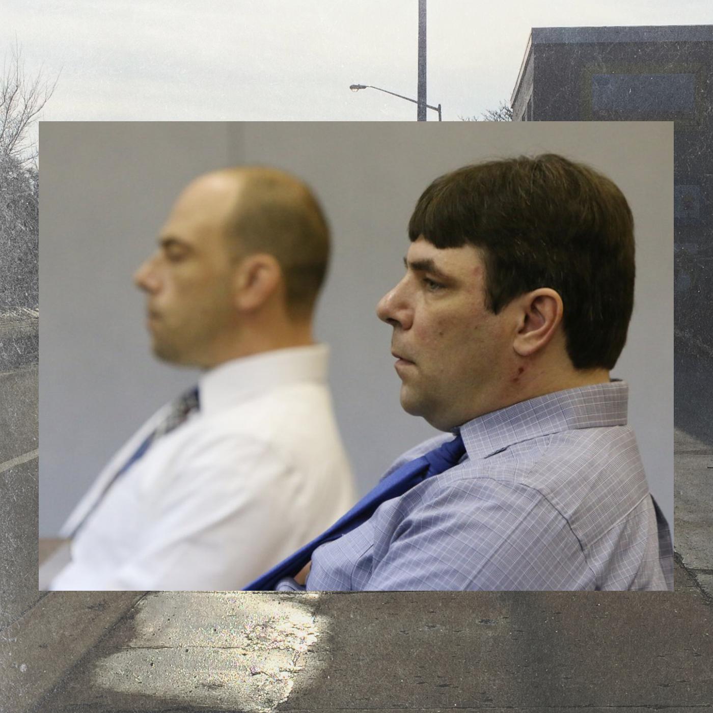 Paul and Matthew Jones at their preliminary examination