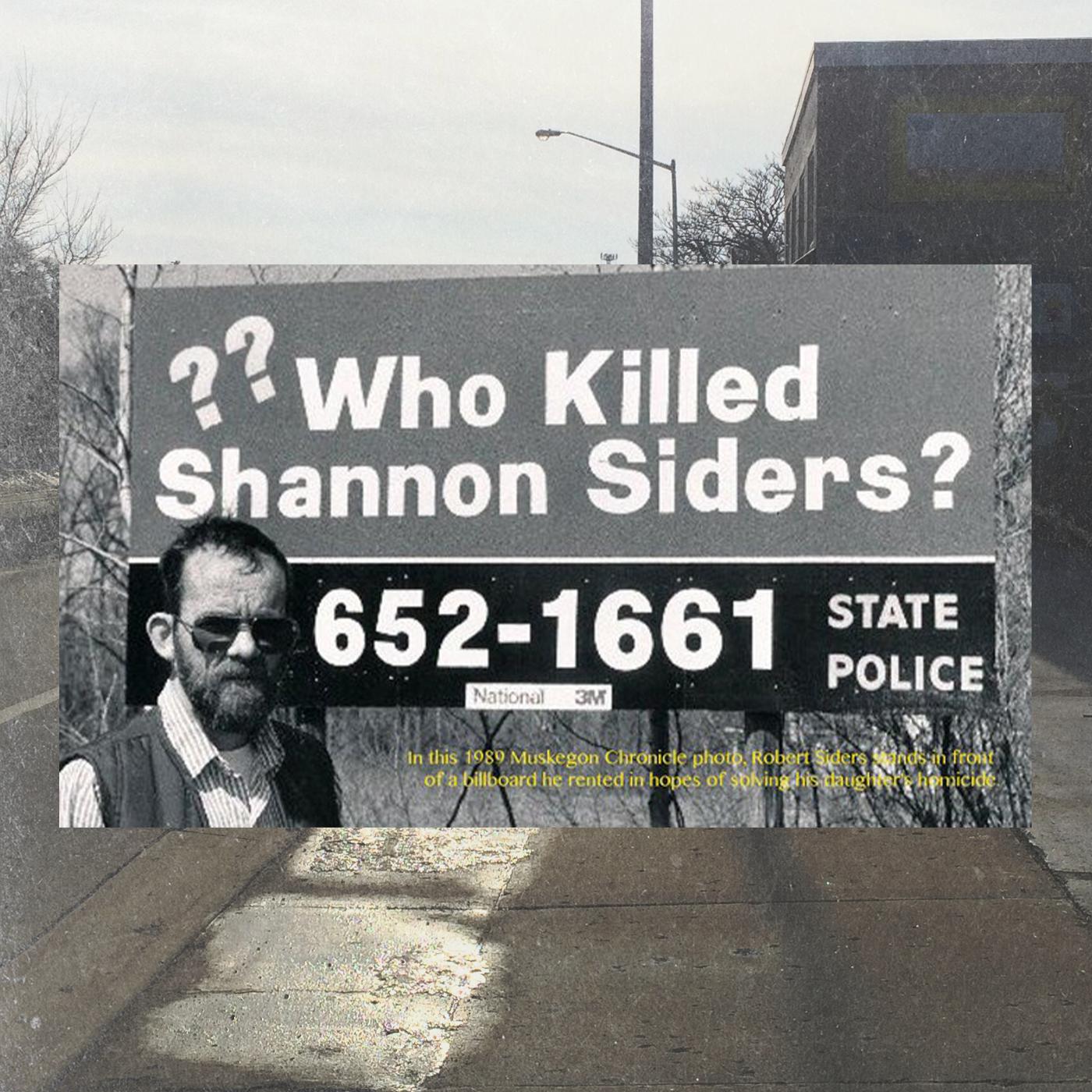 Billboard for Shannon Siders