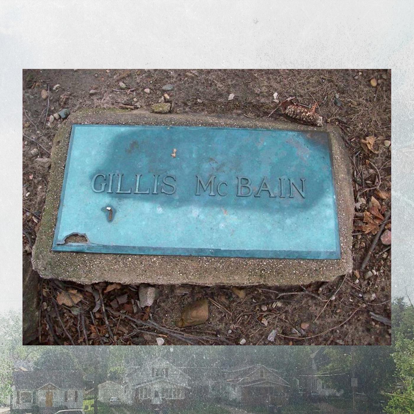 The grave of Gillis McBain