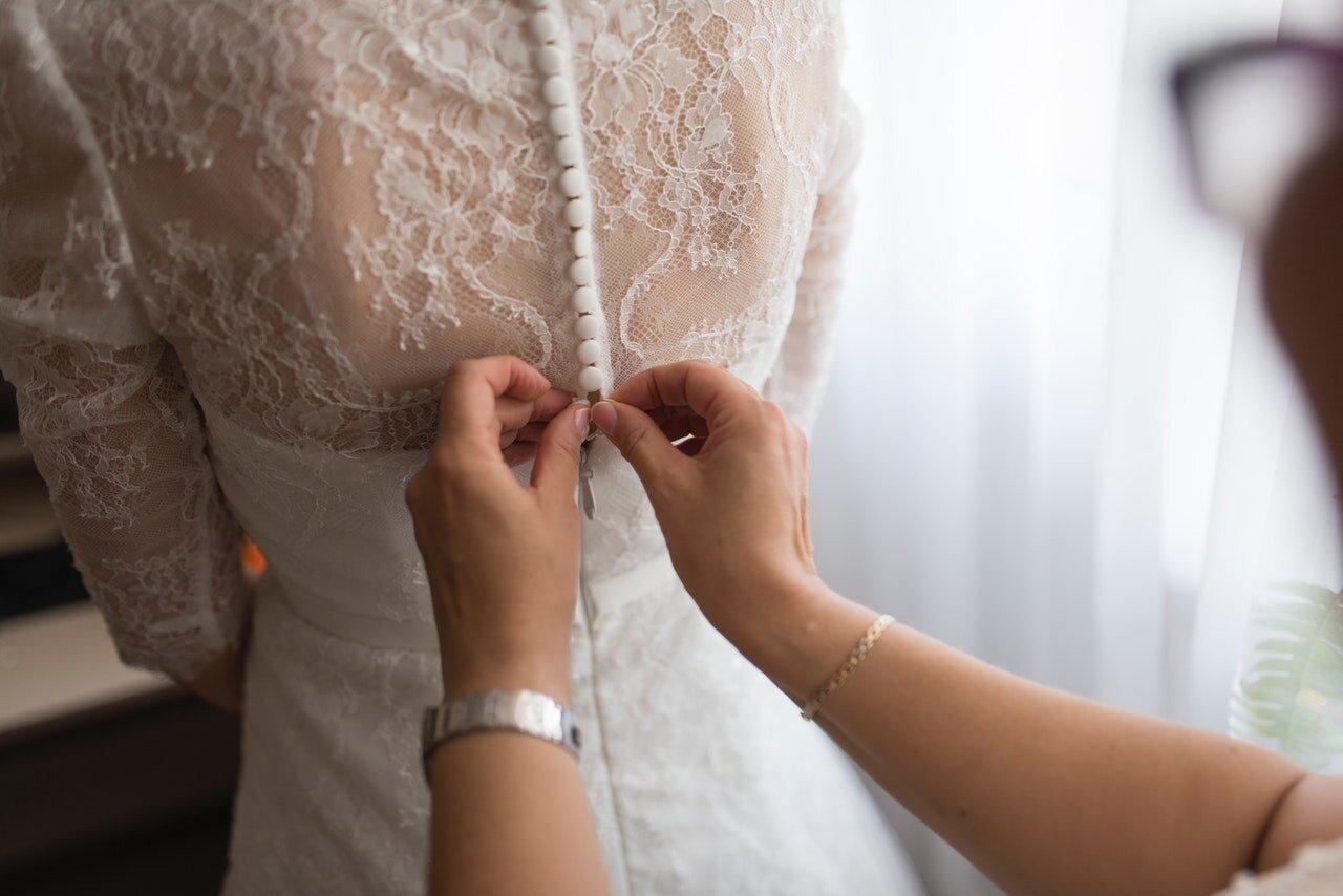 La forma de tu cuerpo influye en el vestido de novia