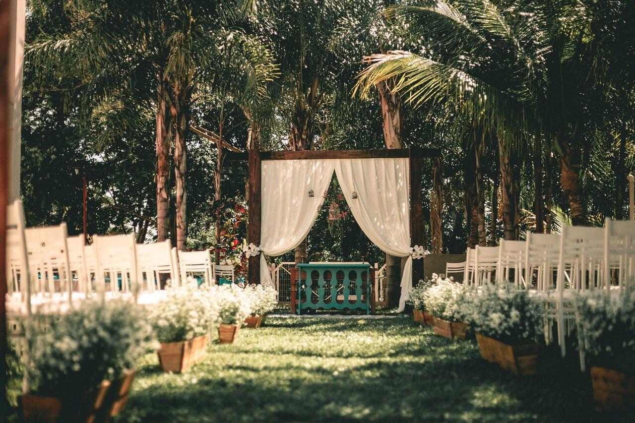 Piensa en el lugar de tu boda