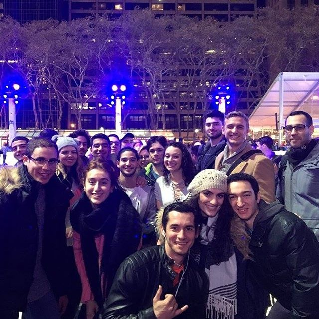 Ice Skating 2017 ☃️⛸ Fun in the cold! Great time with amazing people!