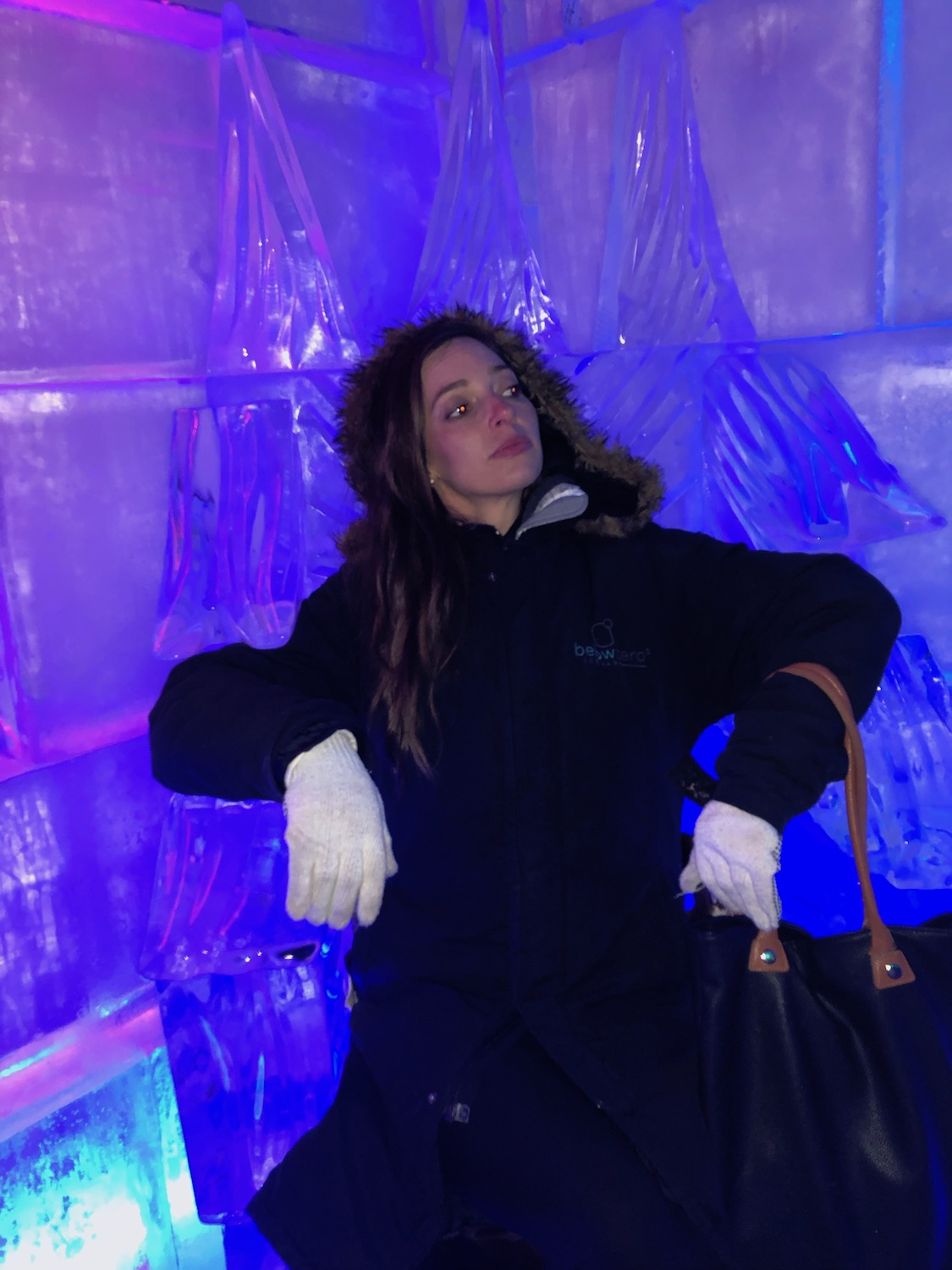 An Ice Bar we hung out at in Queenstown.