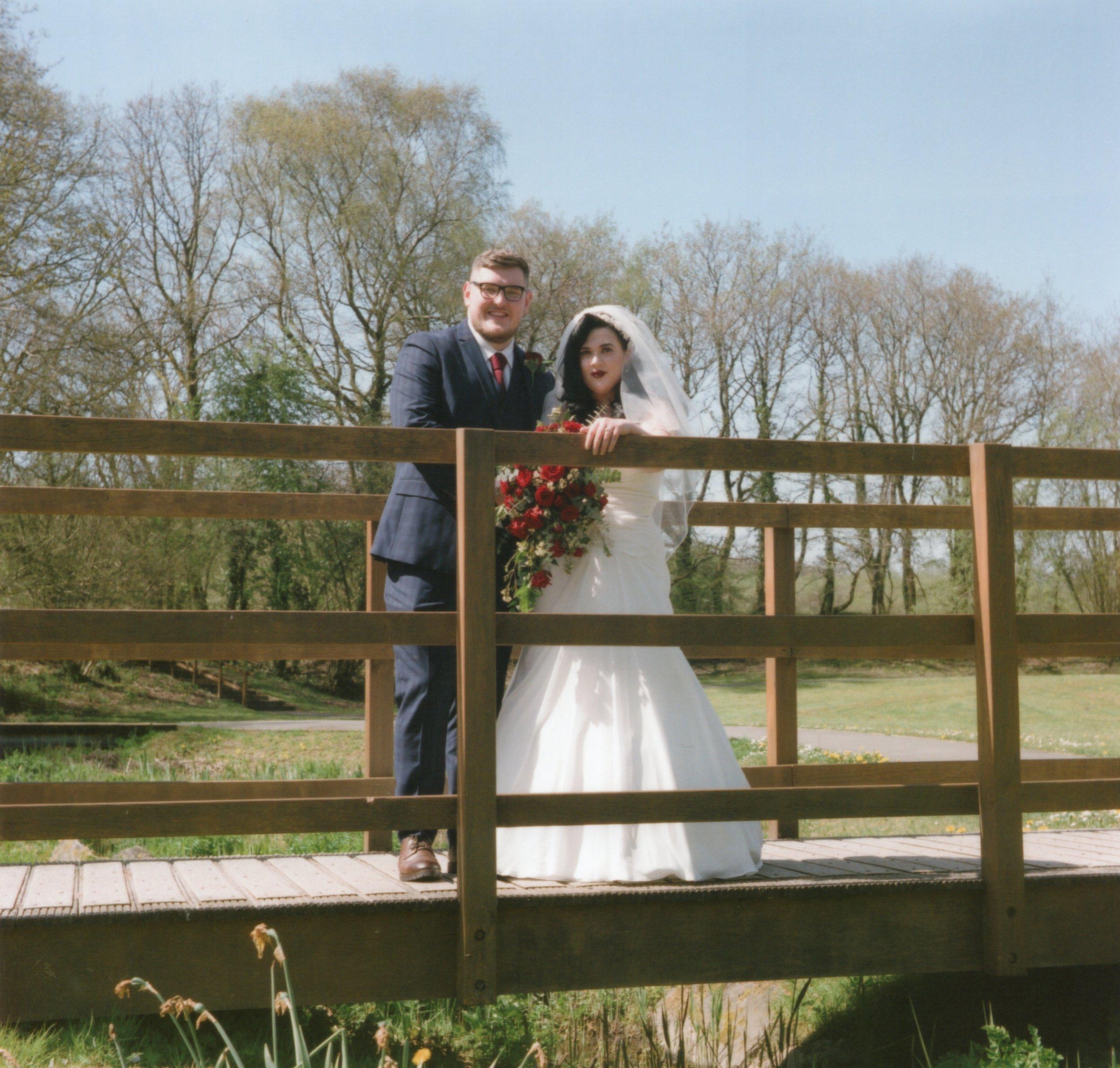 Glenn & Katy's Wedding. Yashica D, FujiPro 400H.
