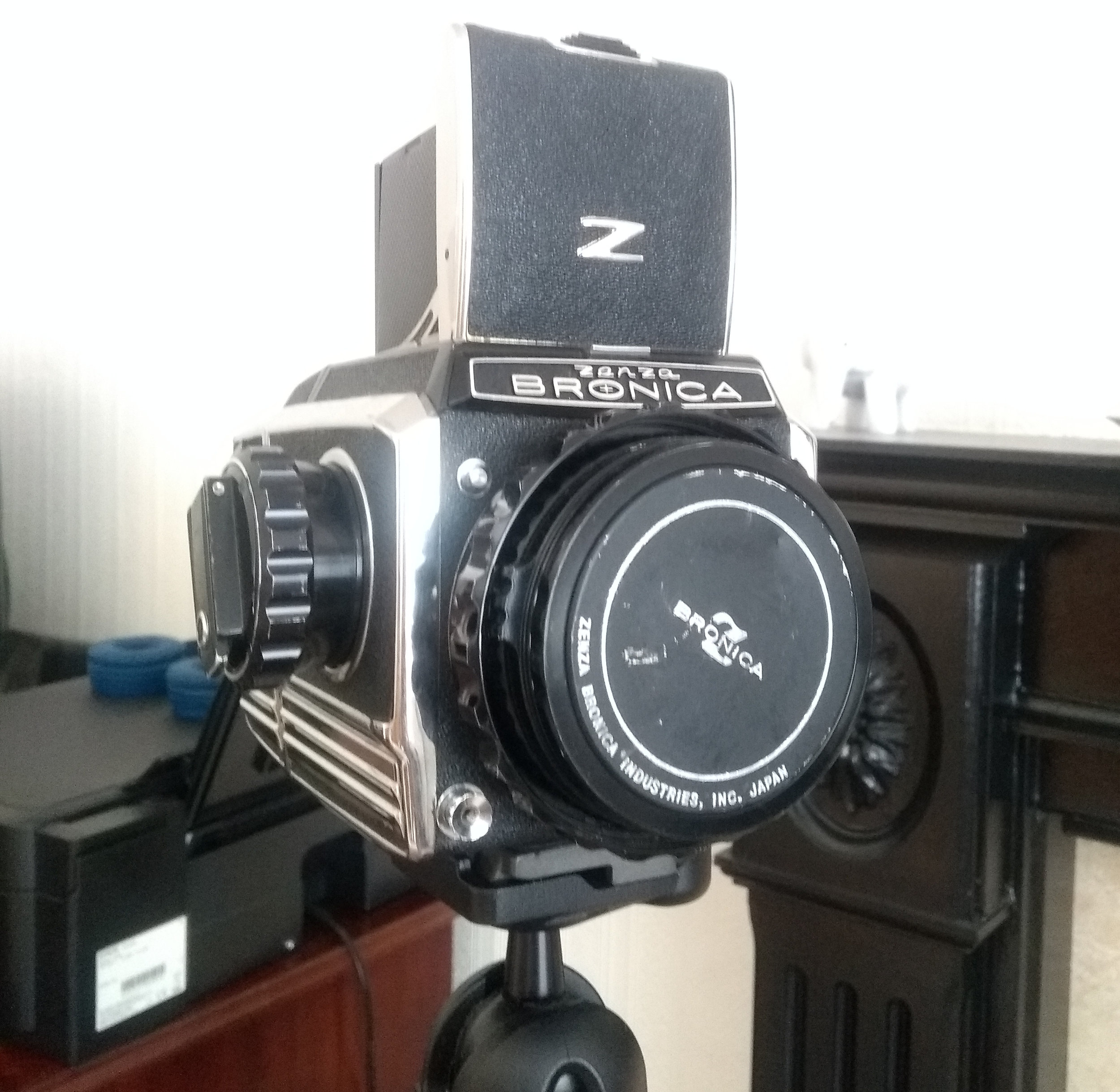 My Zenza Bronica S2A, In Working Order At Last.