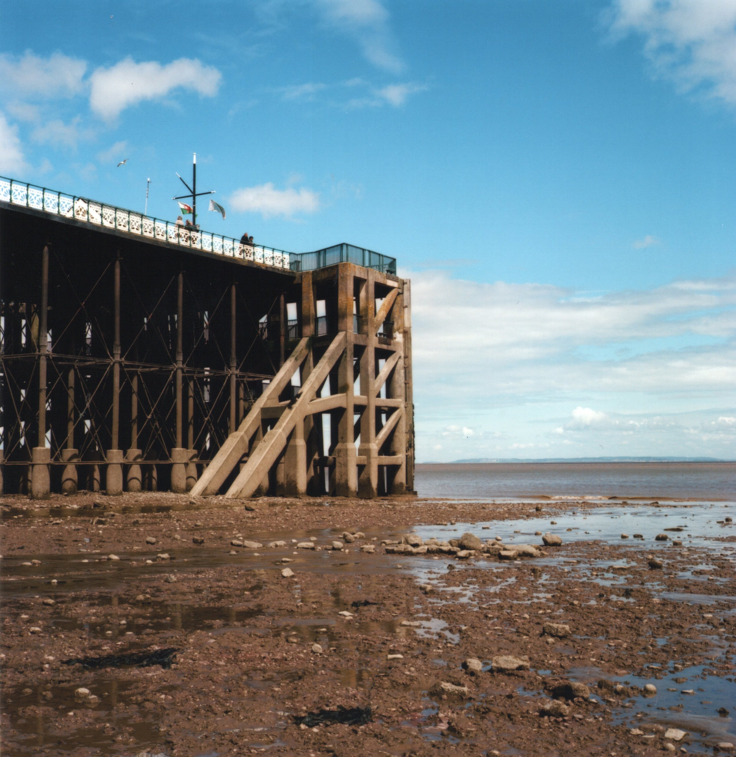 Penarth pier, Zenza Bronica S2A, Kodak Ekatr 100.