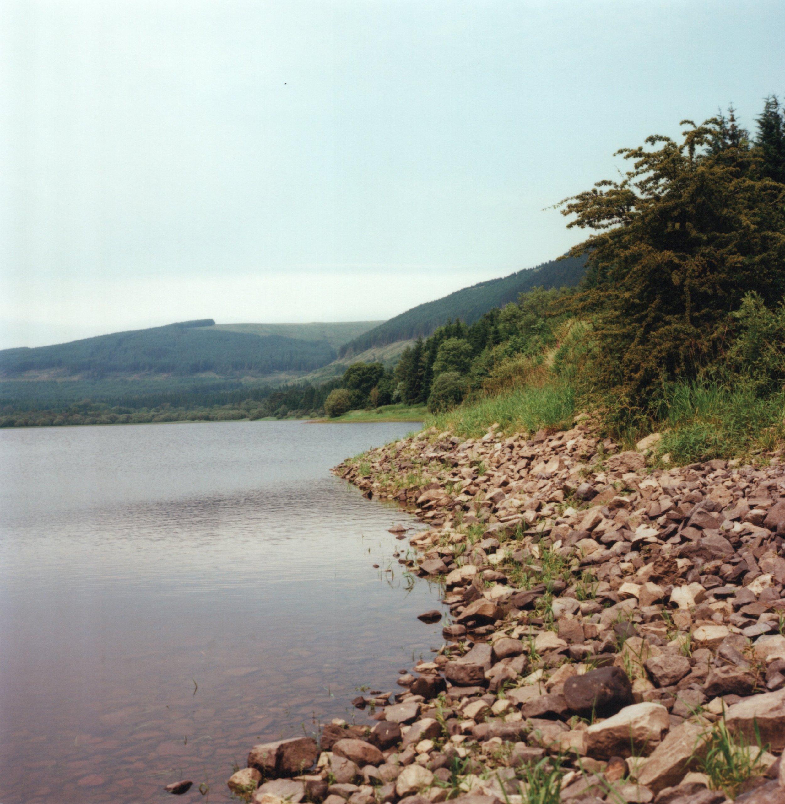 Pontsticill Reservoir. Zenza Bronica S2A, Kodak Ektar 100.
