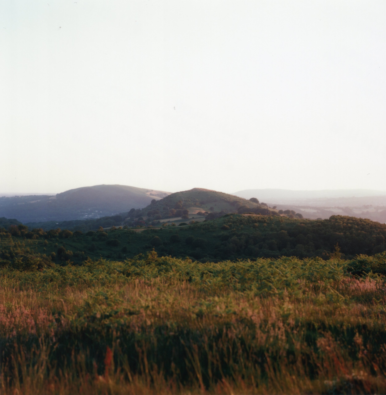 Sundown Over Caerphilly Mountain. Zenza Bronica S2A, Kodak Ektar 100.