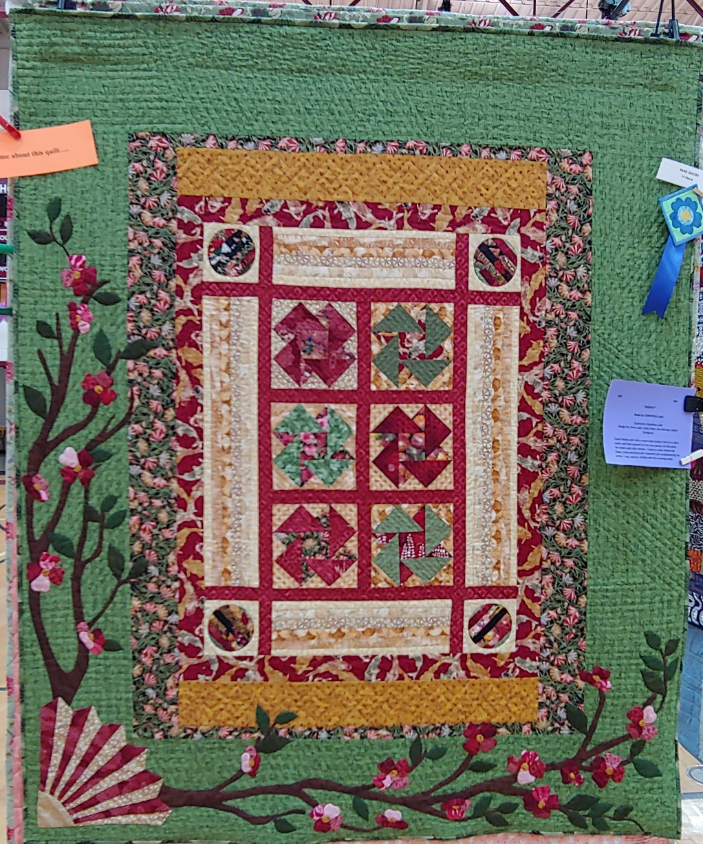 1st Prize Hand Quilted