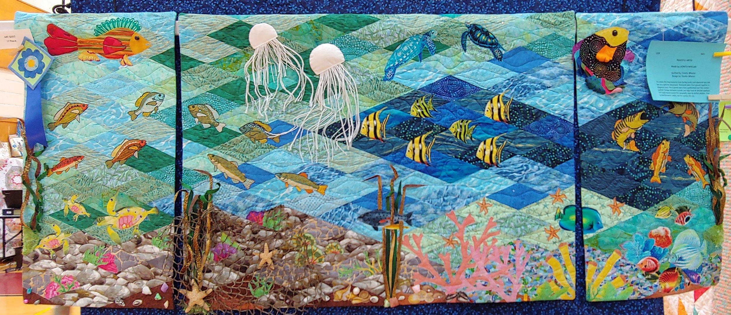 1st Prize Art Quilt