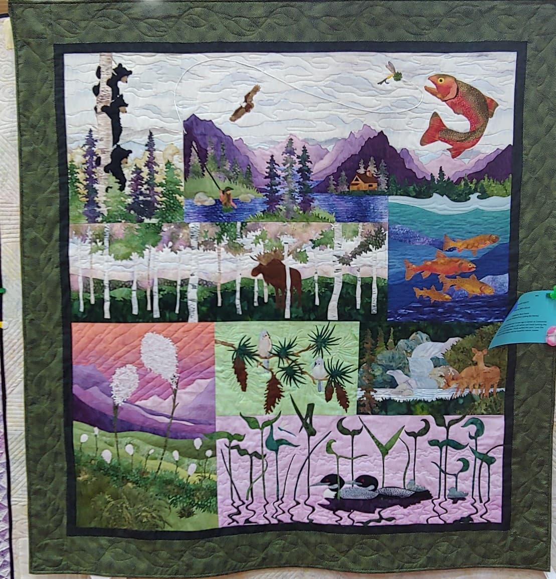 Second Place Art Quilt