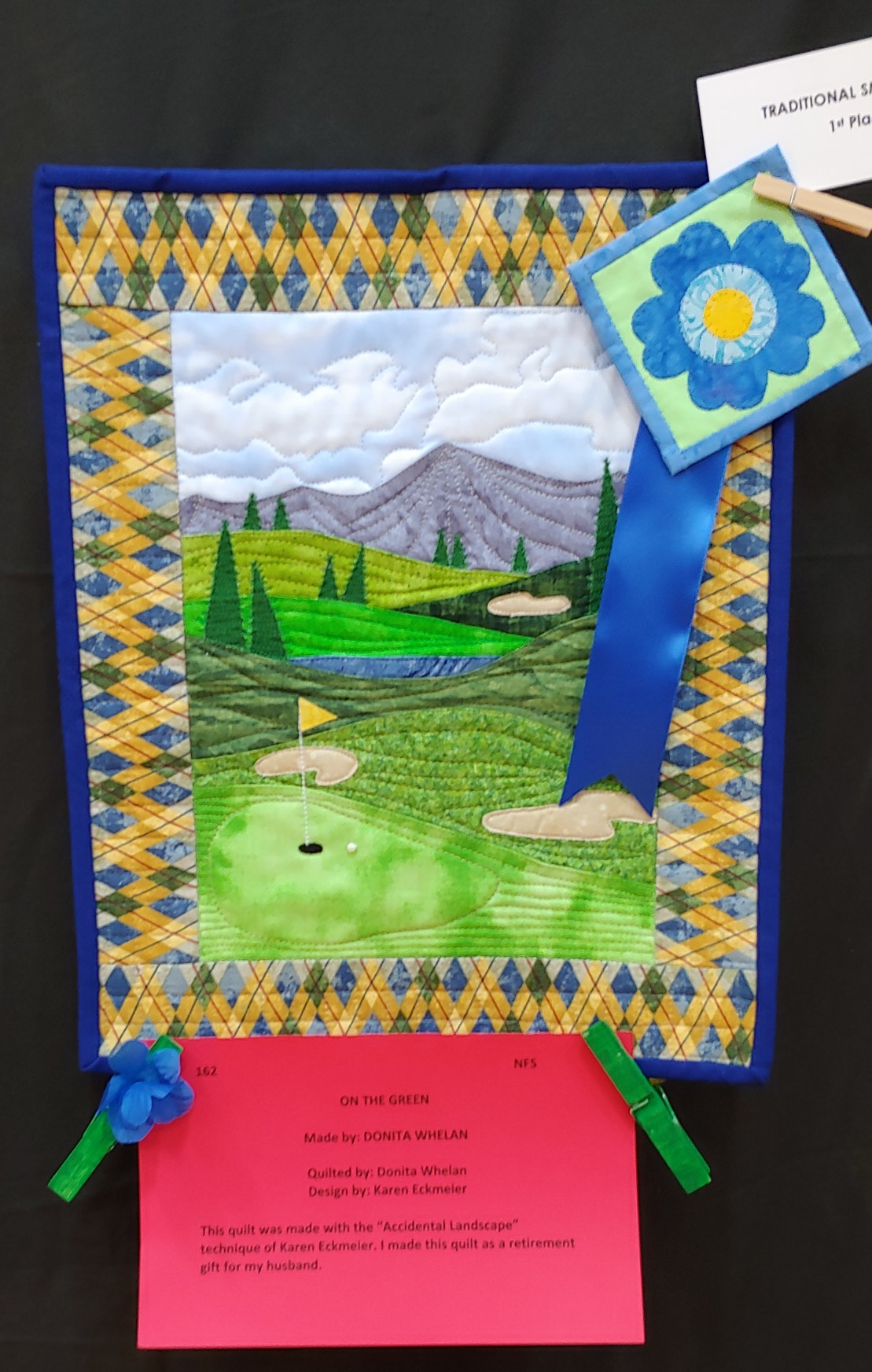 1st Place Traditional Small Quilt